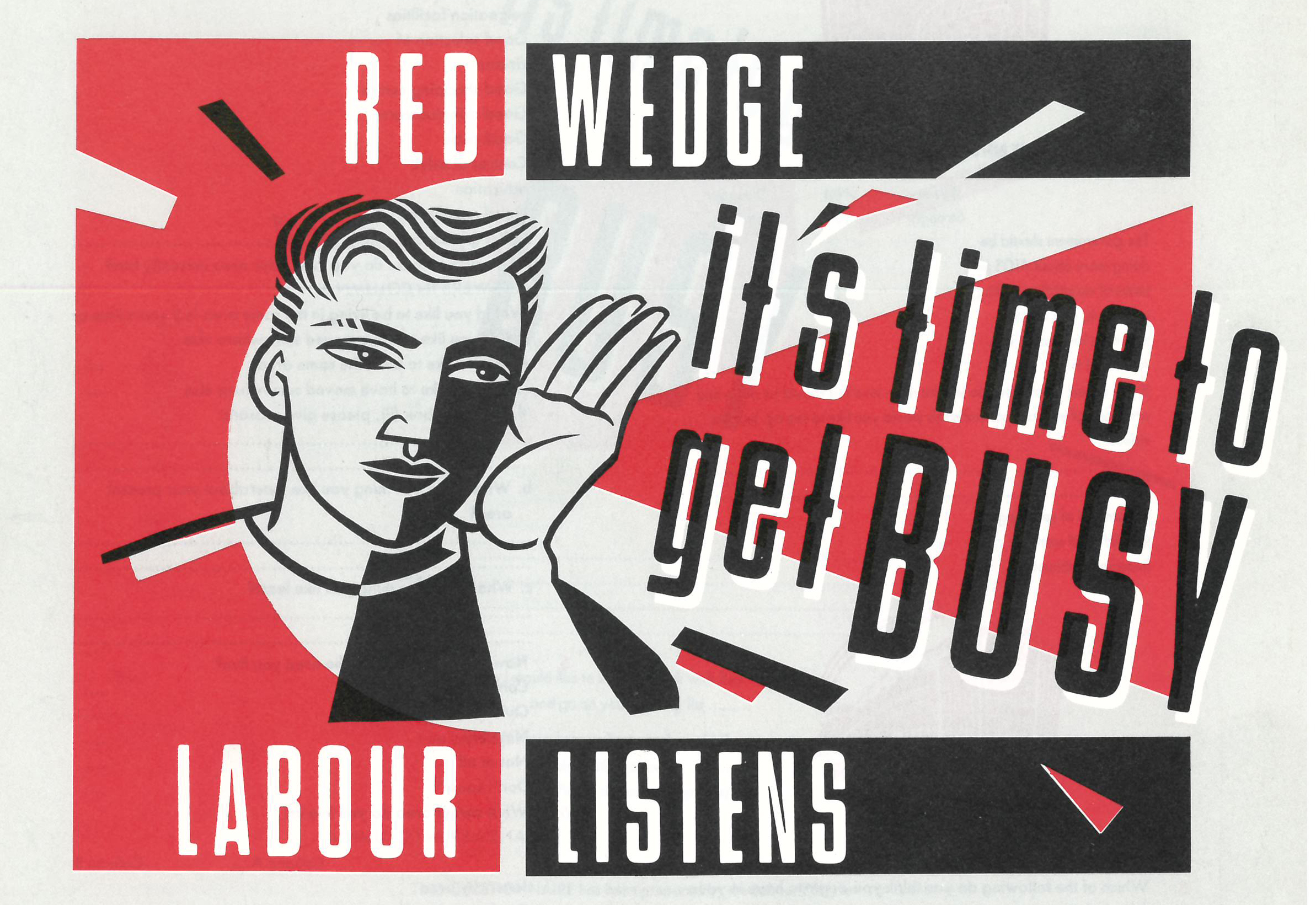 Join Billy Bragg as he looks back at Red Wedge