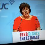 TUC general secretary Frances O'Grady pictured at TUC 2016