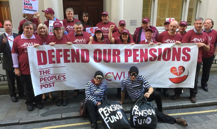 More Than  Cwu Members Working In Post Office Branches Admin And Supply Chain Units Across The Uk Are Today On Strike Over Job Losses Vicious Pension