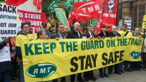 rmt-southern-rail-parliament-demo