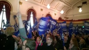 NASUWT strike rally Derry