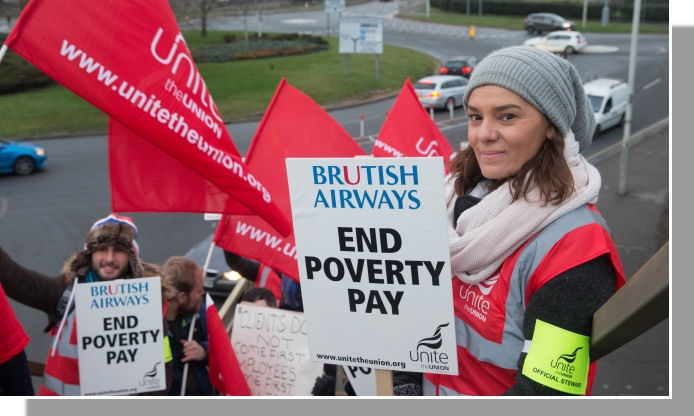 British Airways cabin crew begin 16-day strike