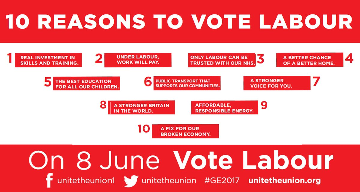 Life is tougher under the Tories – Unite launches #GE2017 campaign