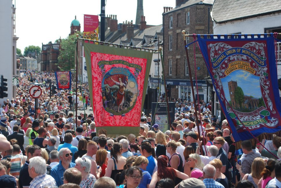 200,000 expected for tomorrow's Durham Miners' Gala with Jeremy Corbyn