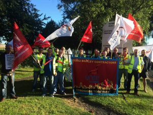 Unite Fawley strikers